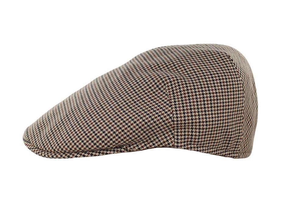 Black Brown and Tan Houndstooth