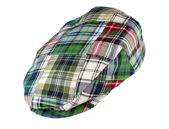 Green Linen Plaid
