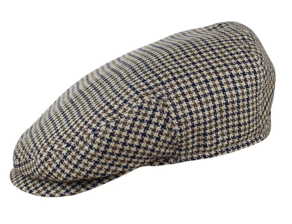 Brown / Navy Houndstooth