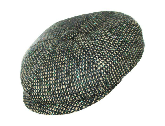 Green and Blue Tweed