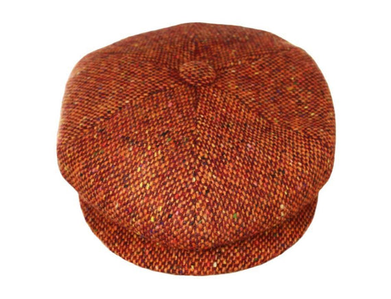 Burnt Orange Tweed