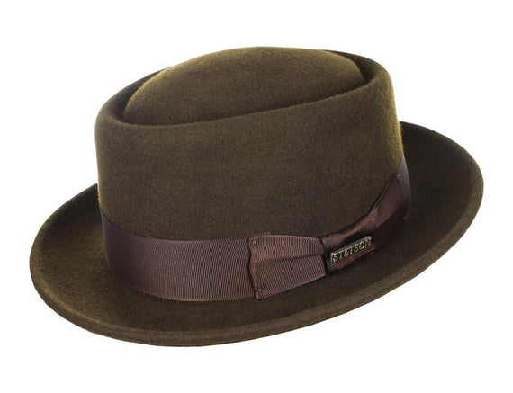 The Stetson Wool Pork Pie