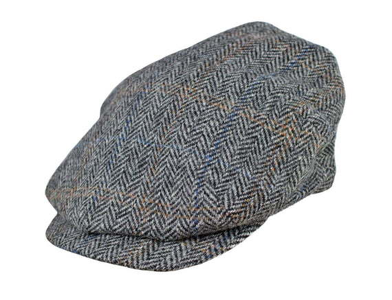 Grey Tweed Herringbone