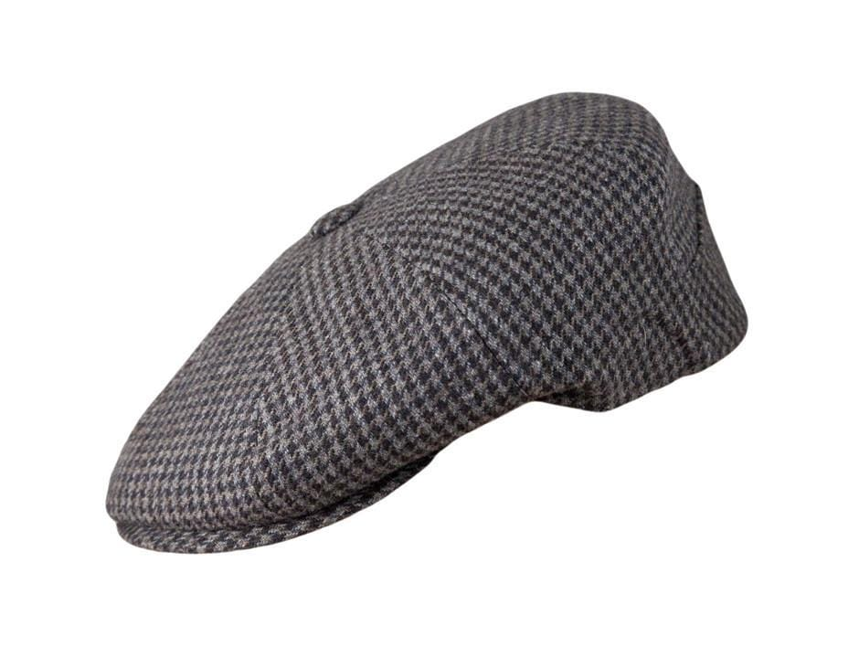 Brown/Charcoal Houndstooth