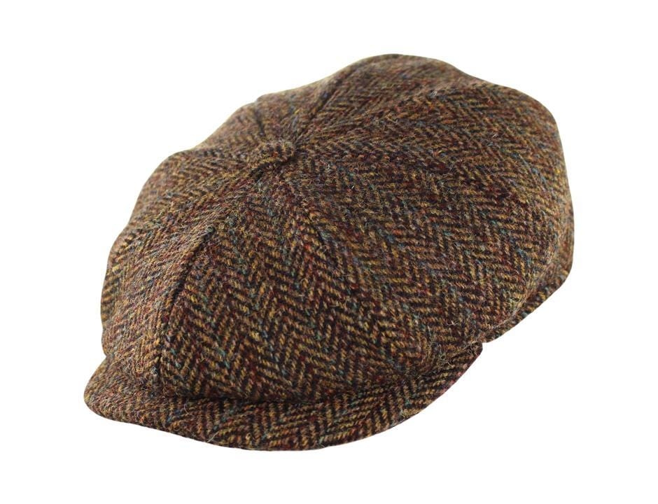 c7257e9a1d7 The Harris Tweed JJ Newsboy - JJ Hat Center