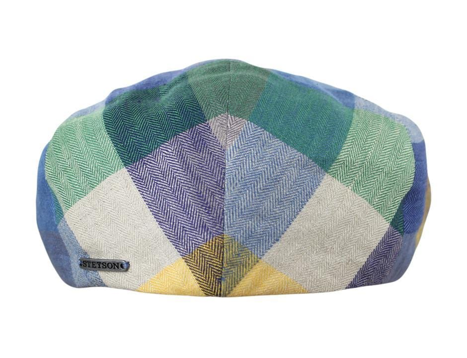 7116bb30d71 The Kent Linen Ivy Pastel Color Block - JJ Hat Center