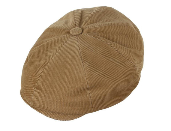 Children's Corduroy Newsboy Cap by Alfonso (Clearance)