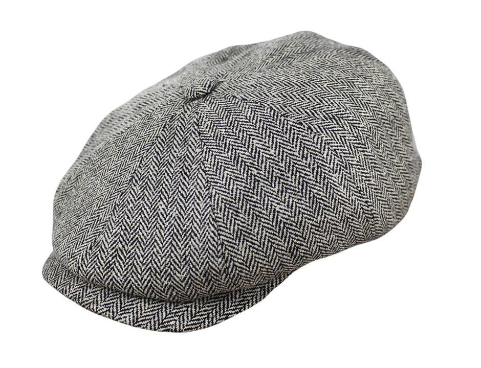 The Hatteras Silk Newsboy - JJ Hat Center 26c846b2dc8
