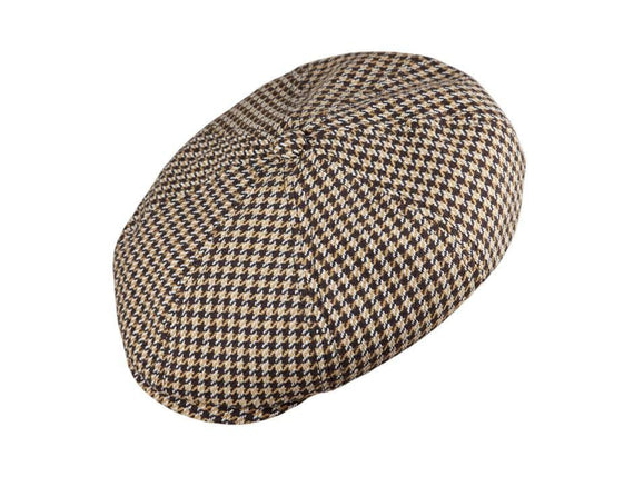 Brown/Tan Houndstooth