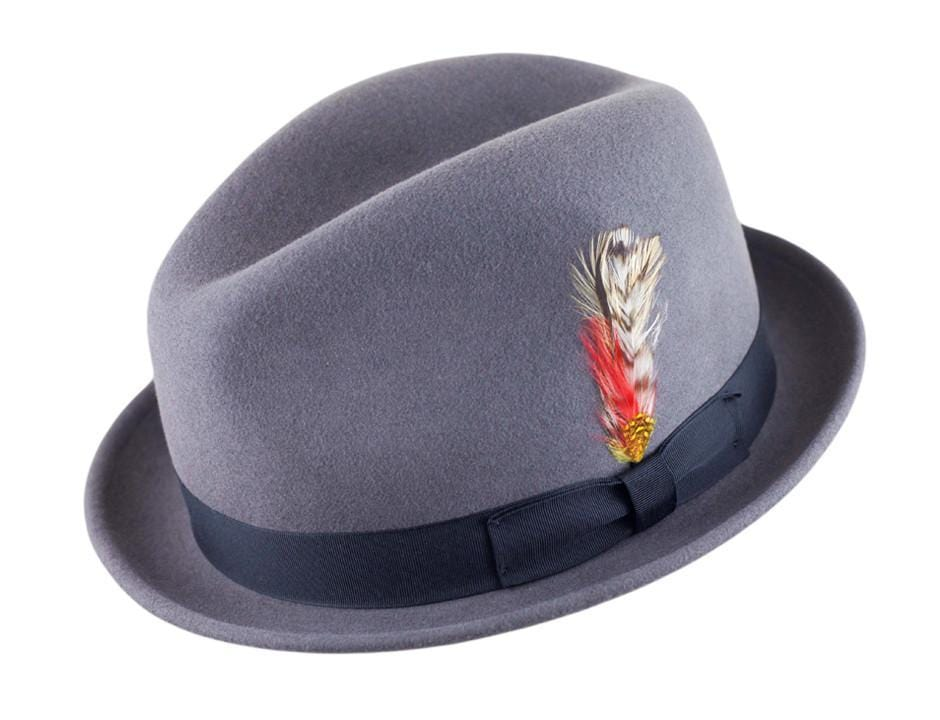 Buy the Stingy Blues Fedora at Pork Pie Hatters and JJ Hat Center! 9c7996aa6f1c