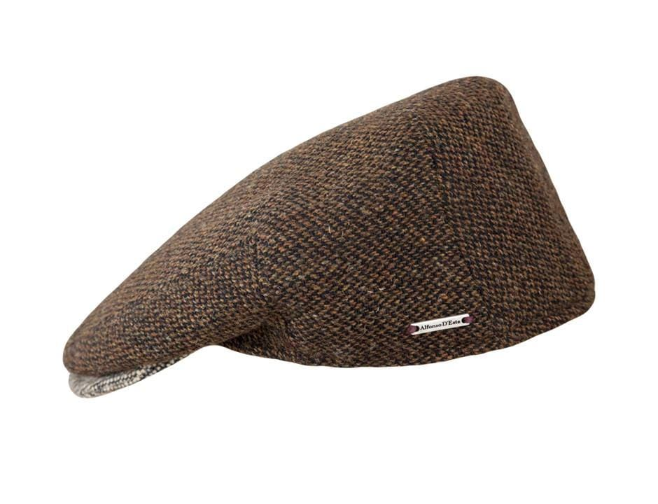 Dark Brown Tweed