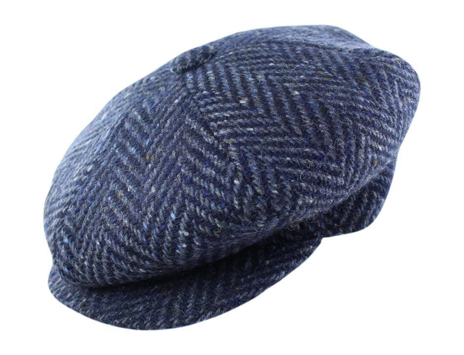 Dark Blue Herringbone