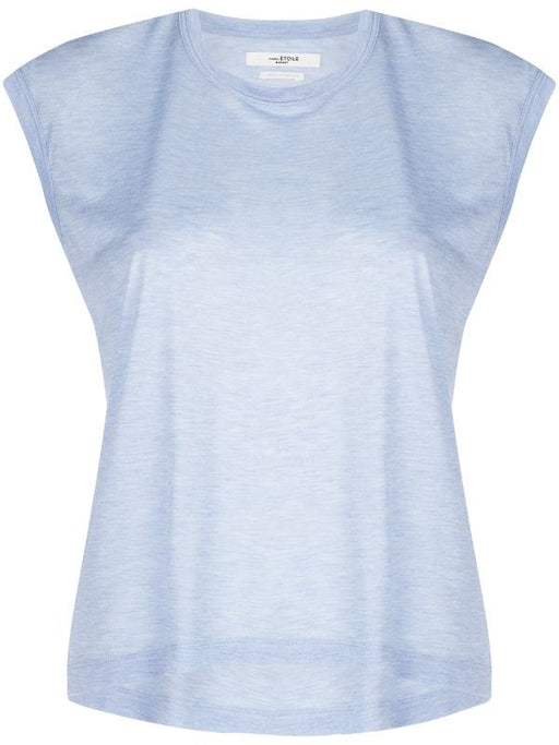 Isabel Marant Etoile-Anette Tee Shirt-Light Blue