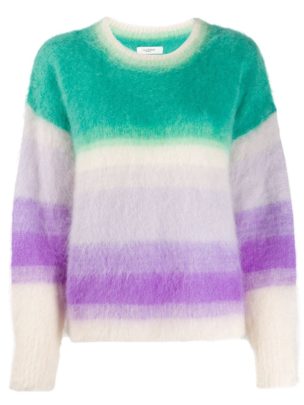 Isabel Marant Etoile-Drussell Mohair Knit Sweater-Green