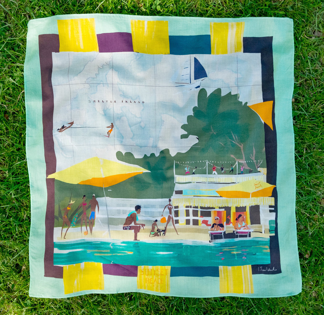 Sunset Beach Scarf, 2019