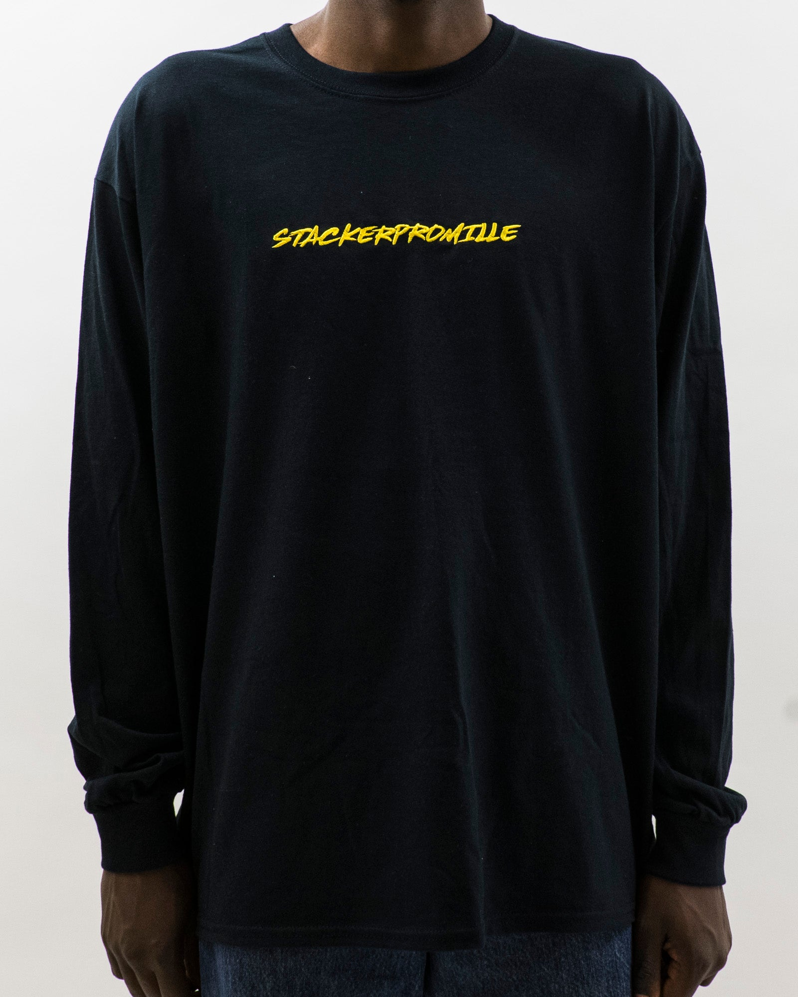 Stackerpromille - Longsleeve - Sort