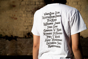 ARIF - Tour T-shirt White