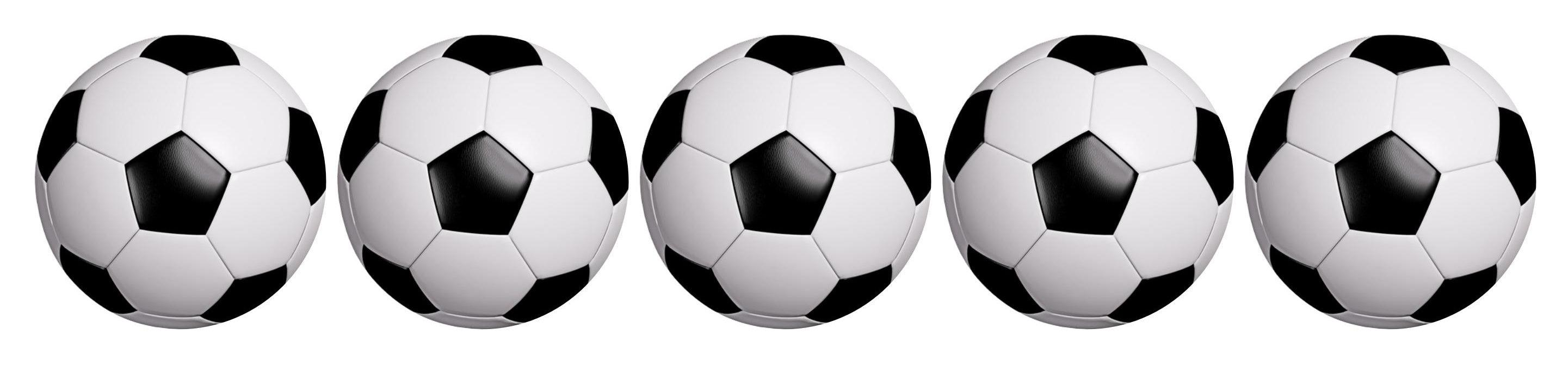 Black and white football printed cupcake toppers