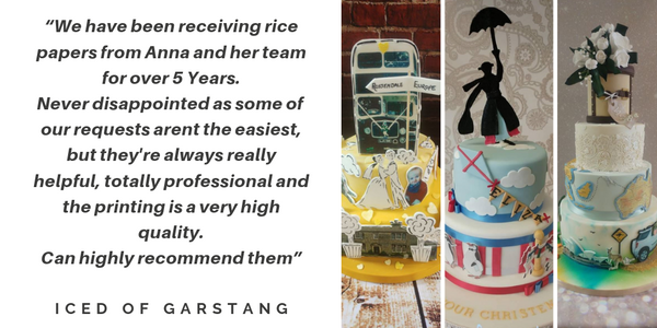Testimonial from Iced of Garstang