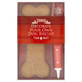Decorate your own dog biscuit from Tesco