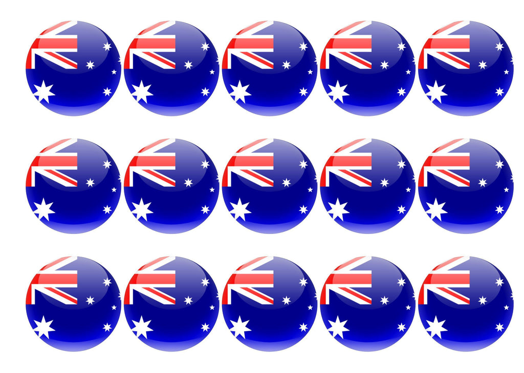 Australia My Cupcake Toppers
