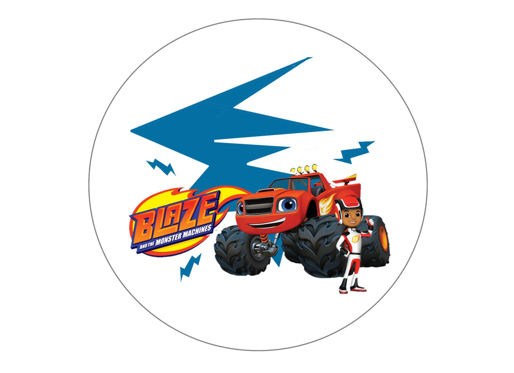 Blaze and the Monster Machines edible printed cake topper