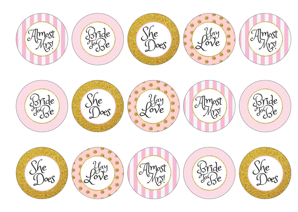 Bridal Shower – My Cupcake Toppers