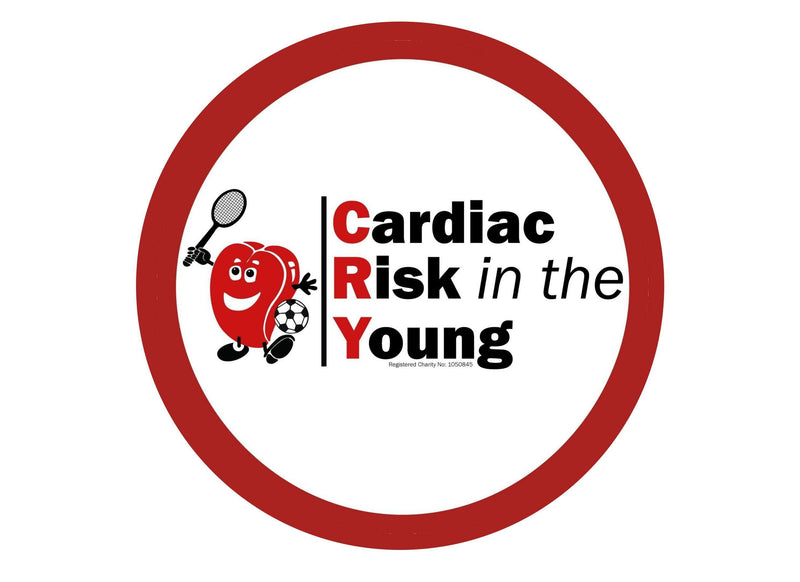Cardiac Risk in the Young - CRY logo-Edible cake toppers-Edibilis