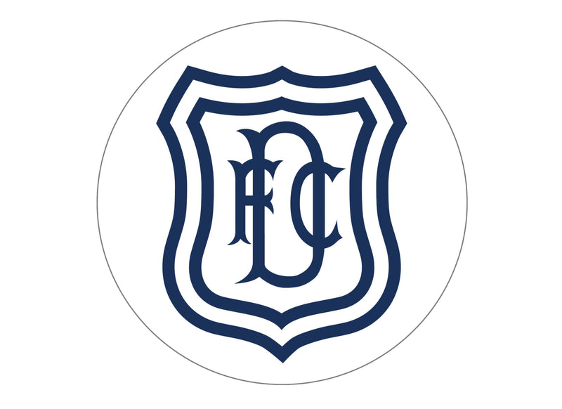 Large Cake topper featuring the Dundee FC Badge