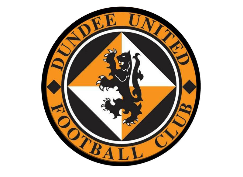 Large Cake topper featuring the Dundee United Badge
