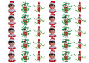 Elf on the Shelf... Ribbons-Edible cake toppers-Edibilis