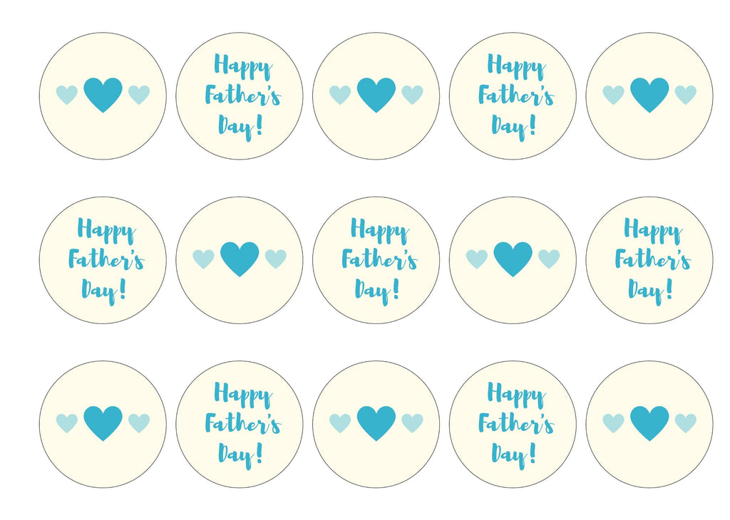Father's Day Hearts