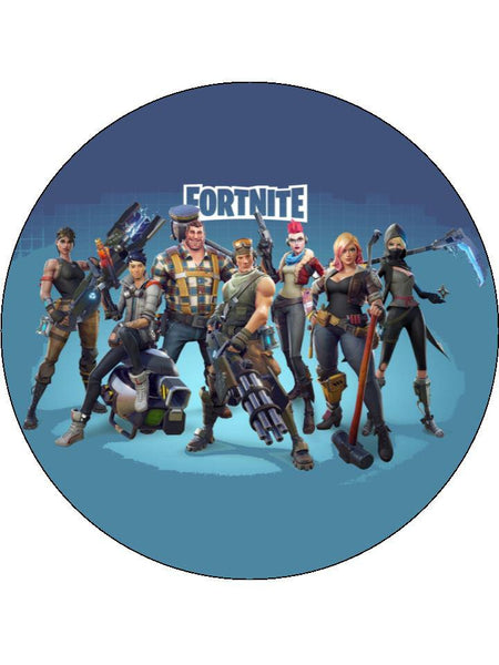Fortnite My Cupcake Toppers