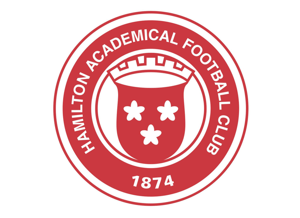 Large Cake topper with the Hamilton Accies FC badge