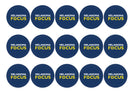 Melanoma Focus Blue-Edible cake toppers-Edibilis