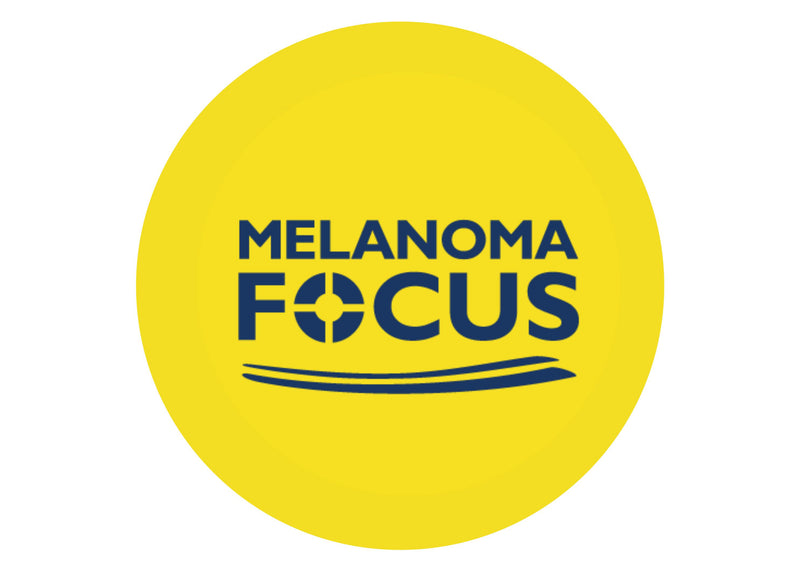 Melanoma Focus Yellow-Edible cake toppers-Edibilis