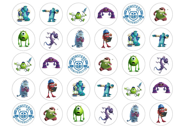 30 cupcake express toppers