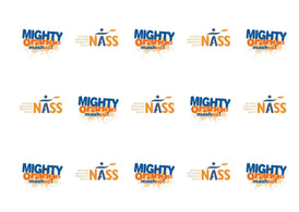 Edible cupcake toppers supporting NASS and the Mighty Orange Mashup
