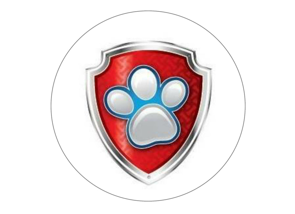 It is a picture of Impeccable Paw Patrol Badges Printable