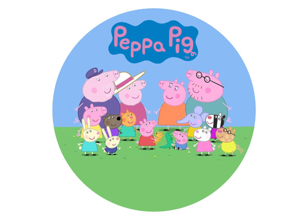 Peppa Pig and Friends – My Cupcake Toppers