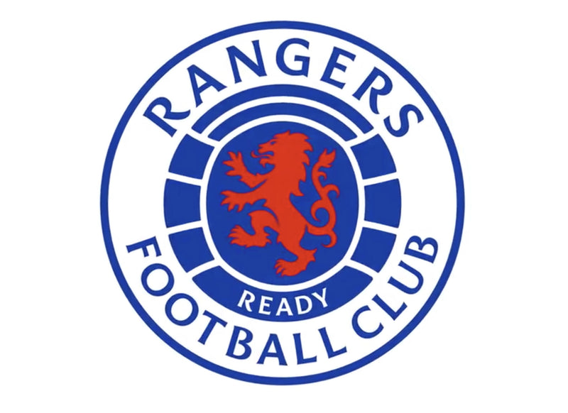"190mm (7.5"") cake topper with the Rangers FC badge"