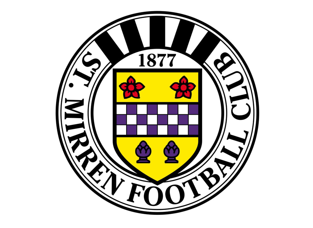 Large cake topper featuring the St Mirren FC Badge