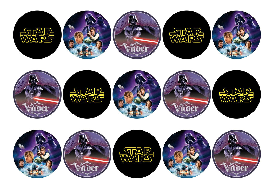 Star Wars – My Cupcake Toppers