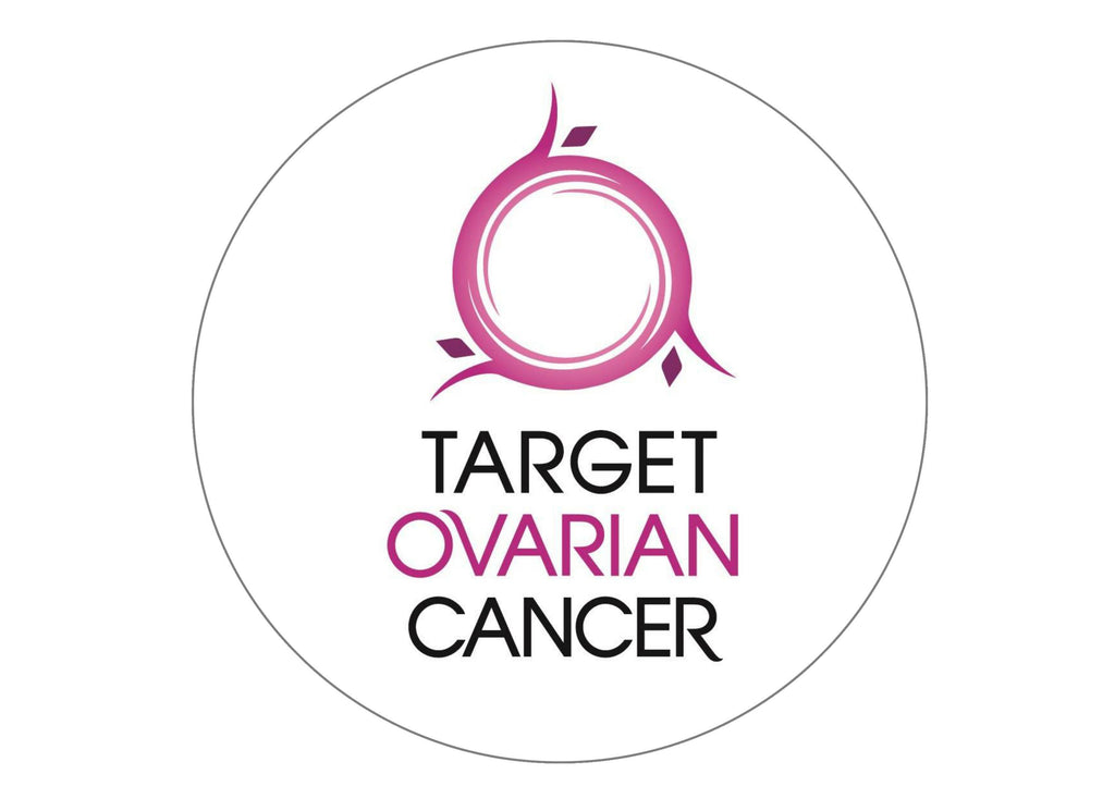 Large Cake topper for the charity Target Ovarian Cancer