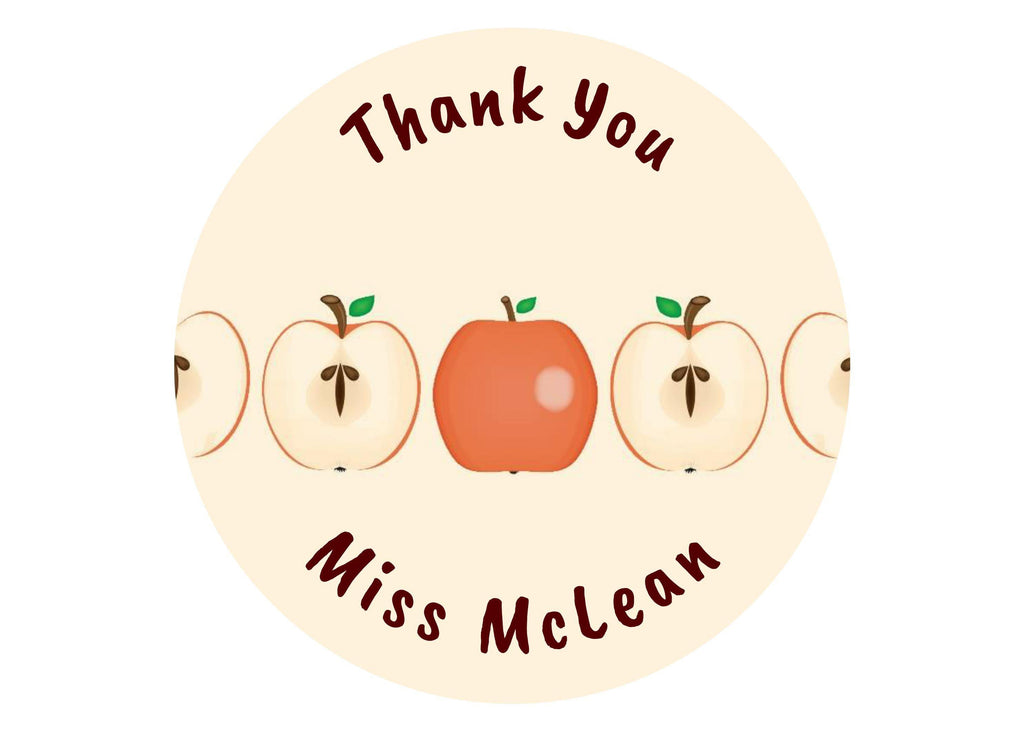 Personalised edible cake topper for your teacher