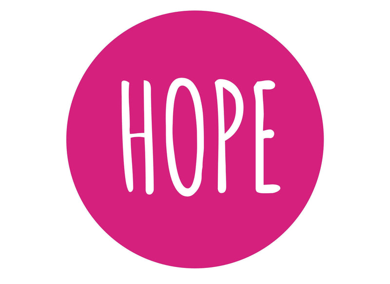 Breast Cancer Hope-Edible cake toppers-Edibilis