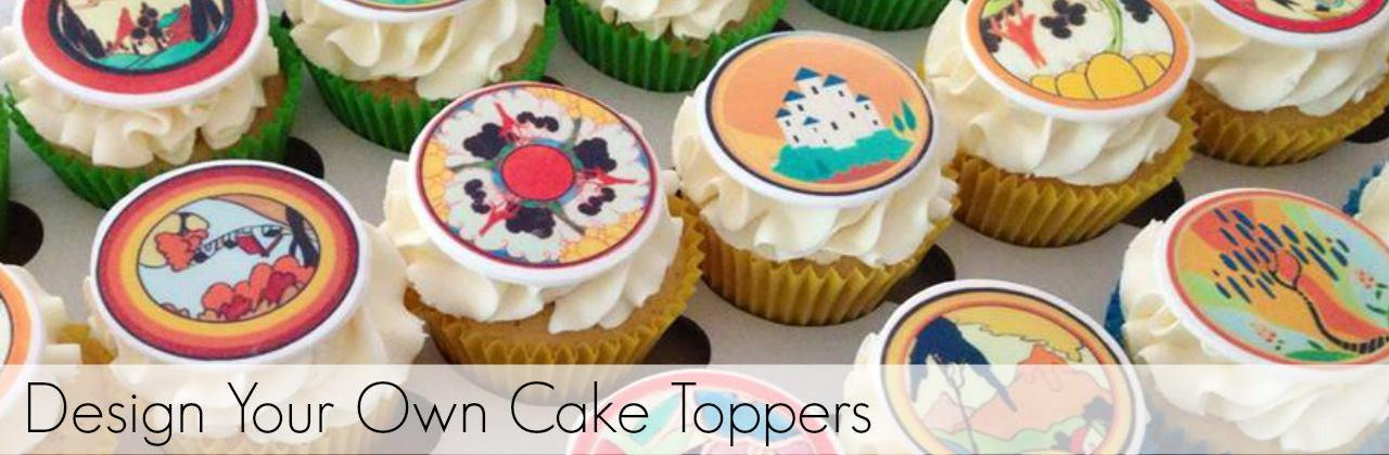 Design Your Own Cake Uk : My Cupcake Toppers