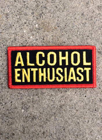 ALCOHOL ENTHUSIAST - PATCH