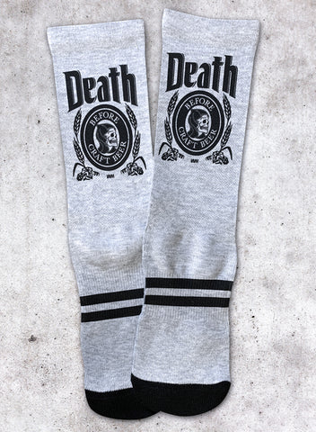 DEATH BEFORE - SOCKS (HEATHER)