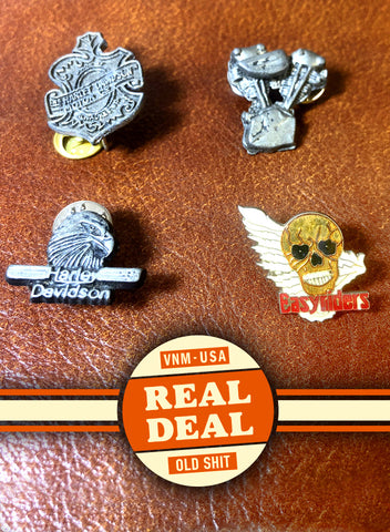 REAL DEAL - VINTAGE PIN PACKS
